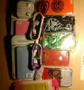 Чехлы силиконовые iPhone 5 айфон 5 G 5s