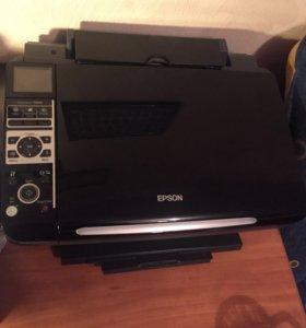 Принтер epson tx400 цветной
