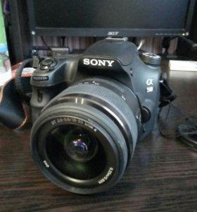 Зеркальный фотоаппарат Sony Alfa SLT- A58K