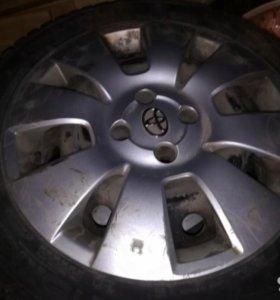 Колеса Toyota Corolla nokian hakkapeliitta 4,5
