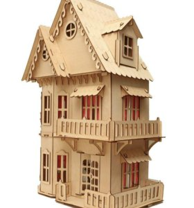 Большой дом замок для кукол
