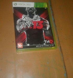 WWE 2k13 диск для XBOX 360 продам илиобмен на диск