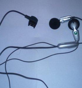 Гарнитура наушники Sony Ericsson