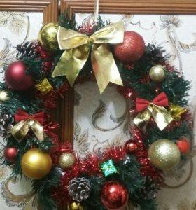 Рождественские веночки для Вашего дома