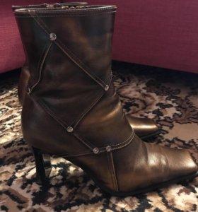 Стильные кожаные ботиночки 36р