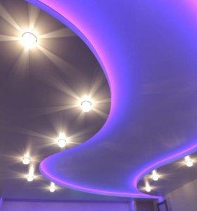 Выгодные потолки СКИДКА 90% на светильники ‼️‼️‼️