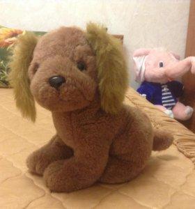 мягкая игрушка(собачка)