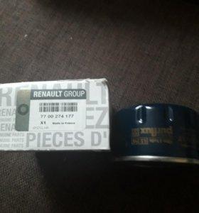 7700274177 фильтр масляный рено