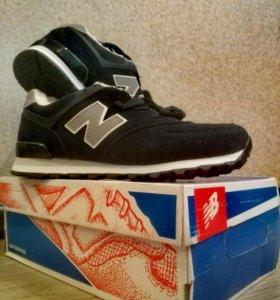 Кроссовки New Balance. Зима