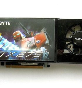 Видеокарта GigaByte GeForce Gtx275