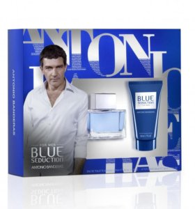 Парфюмерный набор мужской Antonio Banderas Blue S
