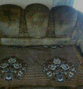 Продам мебель или обмен на угловой диван