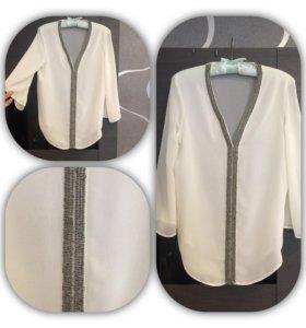 Нарядная фирменная кофточка блузка