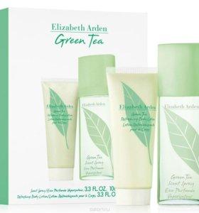 Парфюмерный набор женский Elizabeth Arden Green T