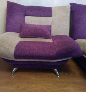 Мягкая мебель диван, 2 кресла