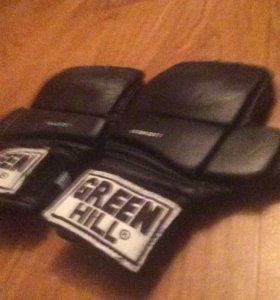 Перчатки самбо кик-бокс