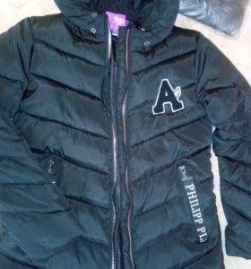 куртки зимняя (новая )