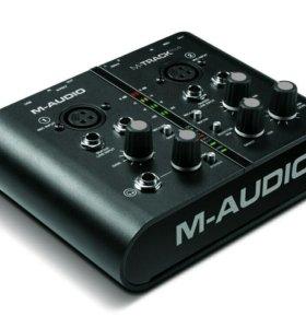 M-AUDIO M-TRACK PLUS USB звуковая карта