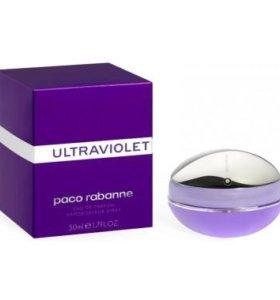Парфюмерная вода Paco Rabanne Ultraviolet, 50 мл