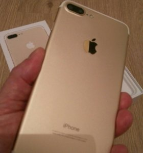 Новый iPhone 7 Plus Gold