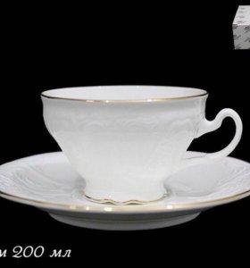 Чайный набор из тонкого фарфора