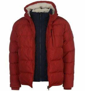Красная куртка 44-46 размер