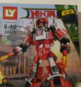 Лего ниньзяго огненный робот