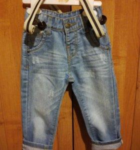 Костюм для мальчика (джинсы,рубашка)