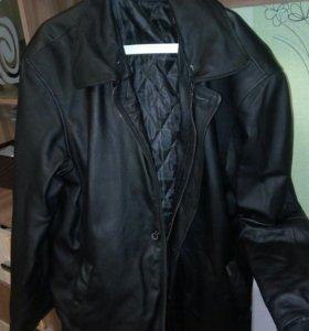 Куртка зимняя натур кожа