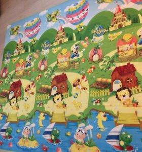 Детский игровой коврик забавный лабиринт, Baby-pol