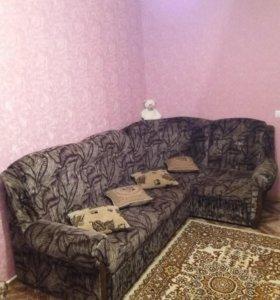 Уголок и 2 кресла