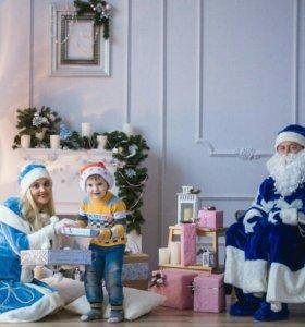 Дед Мороз и Снегурочка: домой, на корпоратив