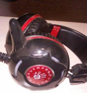 Наушники A4 Tech Bloody с микрофоном