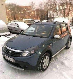 Renault Sandero I Stepway 1.6 МТ 84 л.с.(Хетчбек)