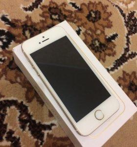 iPhone 5 s 16 Gb Gold .