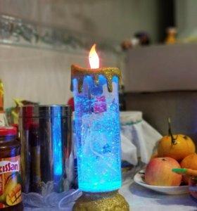 Зимняя свеча