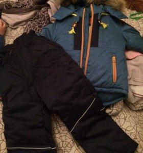 Куртка, полукомбинезон зимние