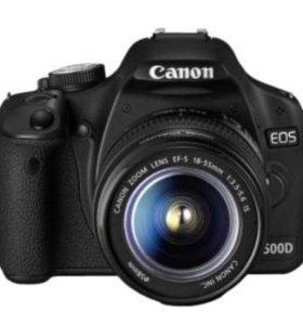 Фотоаппарат зеркальный Canon EOS 500D EFS 18-55 DC