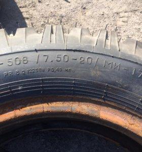 Шины грузовые 7.50-20 (220-508) МИ-173-1