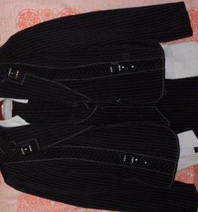 Костюм 5 (юбка, брюки, блузка, жилет, пиджак).