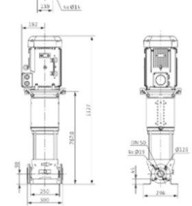 Насос helix v 2204-3/16/e/400-50 новый