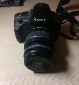 Зеркалка фотоаппарат Sony alpha 330