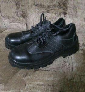 Ботинки кожаные осенние.