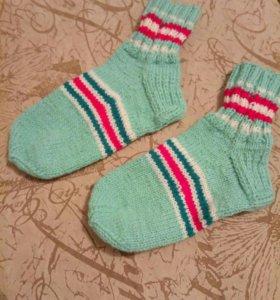 Носки и следочки шерстяные