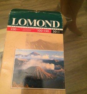 Фотобумага LOMOND 230 g/m2, 100x150