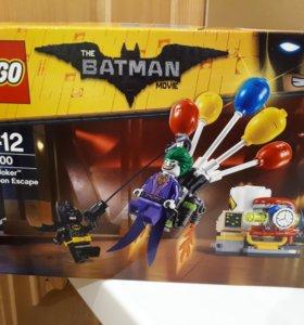Новый LEGO 70900 Побег Джокера на воздушном шаре