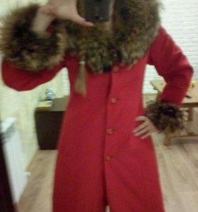 Пальто+пакет одежды