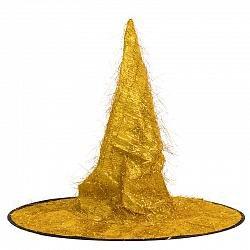 Шляпа Конус, золотая