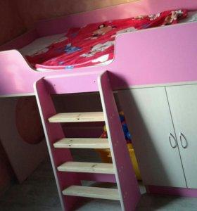 Кровать-чердак детская Легенда-2