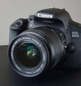 Canon 650 d , зеркальный